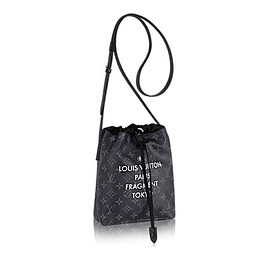 LOUIS VUITTON - Nano Bag Monogram Eclipse Flash MEN TRAVEL  | LOUIS VUITTON