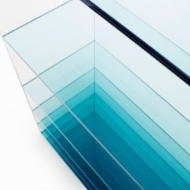 "Nendo - ""Deep Sea"" Shelf for Glas Italia"