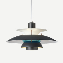 Louis Poulsen - PH 5 CONTEMPORARY DARK GREY/TURQUOISE