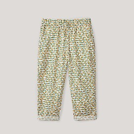 COS - PRINTED ELASTICATED TROUSERS