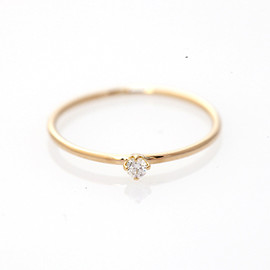 COQU MEOMI - Diamond pinky ring (small)