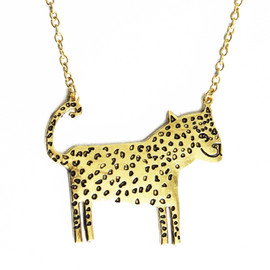 Lazy Oaf - Leopard Necklace