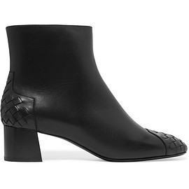 Bottega Veneta - Intrecciato leather ankle boots