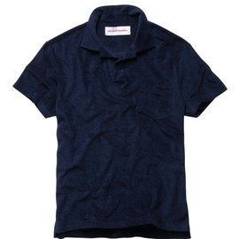 Orlebar Brown - Terry - The Terry Towelling Polo - Navy