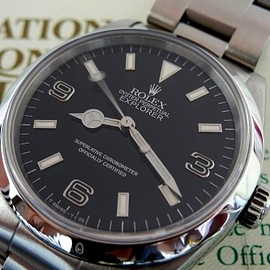 "ROLEX - EXPLORER-1 Ref:14270 ""E series BLACK OUT"" 1991"