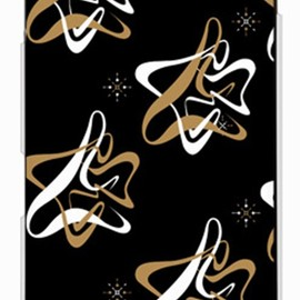 SECOND SKIN - MHAK 「SPACER」 ブラック×ベージュ (クリア) / for DELL Streak Pro GS01/EMOBILE