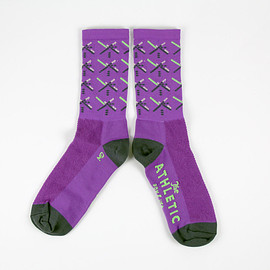 The Athletic - PDX Purple Sock