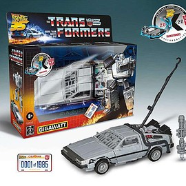 Hasbro, BACK TO THE FUTURE - Transformers Generations: Gigawatt - Back to the Future 35th anniversary Edition