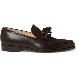 MR. HARE - Genet Tasselled Suede and Leather Loafers