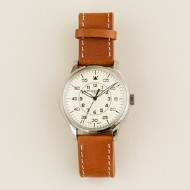 J.CREW - Mougin & Piquard for J.Crew grande seconde watch in cream