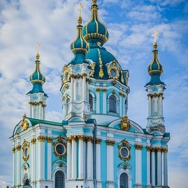 Kiev, Ukraine - St. Andrew's Church
