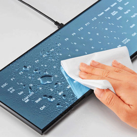 Minebea - The Cool Leaf Touchscreen Keyboard