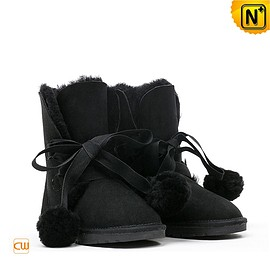 CWMALLS - Shearling Ankle Boots CW314405