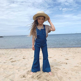 TWIN COLLECTIVE - New Farrah Flare Denim Overall