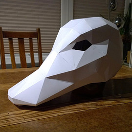 Wintercroft - Make your own Duck Mask