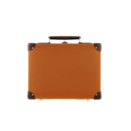 "GLOBE-TROTTER - ORIGINAL Orange & Tan - 13"" MINI UTILITY"