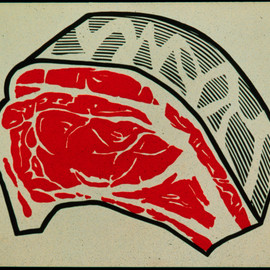 Roy Lichtenstein - meat