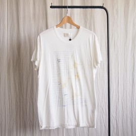 TROVE - PLANT TEE - UNFINISHED #white