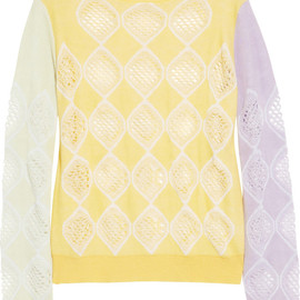 CARVEN - Cotton and cashmere-blend sweater