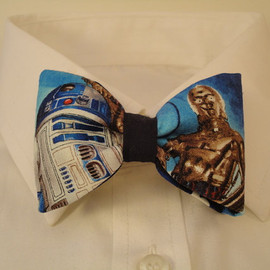 Star wars fabric bow tie