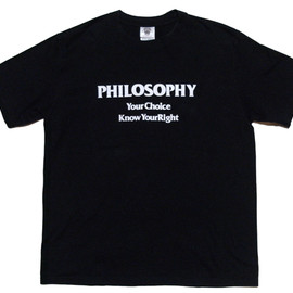 PHILOSOPHY - PHILOSOPHY T-SHIRTS