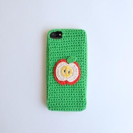 miraco - iPhone カバー /「Apple」GREEN