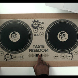 Pizza Hut - DJ Pizza Box