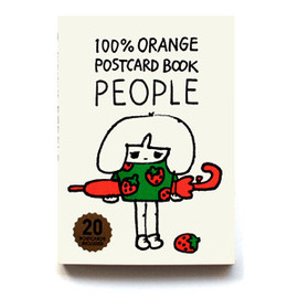 100%ORANGE - POST CARD BOOK PEOPLE