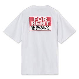 VETEMENTS - FOR RENT T-SHIRT