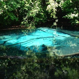 Krabi,Thailand - blue pool