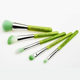 Bdellium Tools - Green Bambu Mineral 5pc. Brush Set