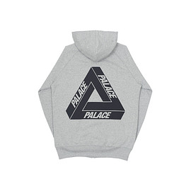 palace skateboards - Tri-Ferg Zip Hood Grey