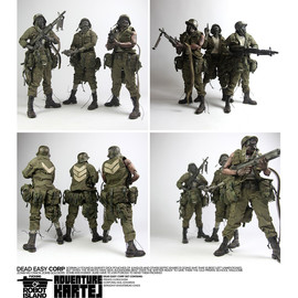"threeA Toys - ADVENTURE KARTEL ""DEAD EASY CORP"""