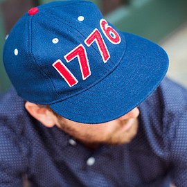 ebbets field flannels - ebbets field flannels×j.crew  「independence day 1776 cap」