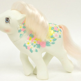 My little pony - Flower bouquet   /Merry-go-round ponies(G1)