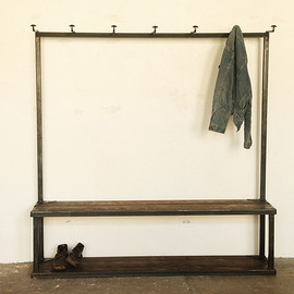 Strawser & Smith - COAT RACK BENCH