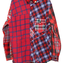 NADA. - Re-make nel check shirts