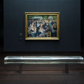 Tokujin Yoshiyoka - Water Block bench (as seen at Musée d'Orsay, Paris, Impressionist room)