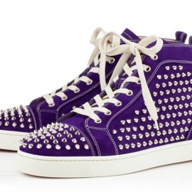 Christian Louboutin - LOUIS SPIKES MEN'S FLAT