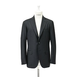 RING JACKET - WOOL 3B SUITS / BLACK