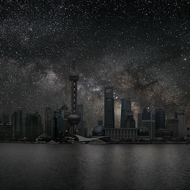 THIERRY COHEN - Darkened Cities / shanghai