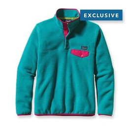 Patagonia - Patagonia Women's Lightweight Synchilla® Snap-T® Pullover