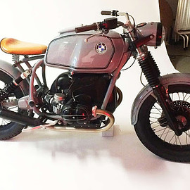 Side Rock Cycles - BMW Winspit Warrior