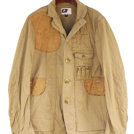 Engineered Garments - Shooting Jacket Khaki Cotton Oxford