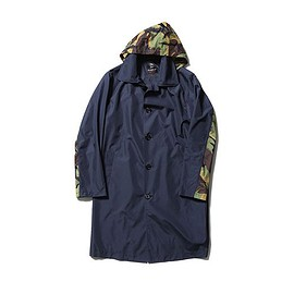 SOPHNET. - Fox Umbrellas x SOPHNET. 2015 Spring/Summer Soutien Collar Raincoat