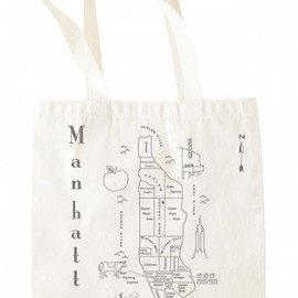 MAPTOTE - Manhattan Metallic Grocery Tote