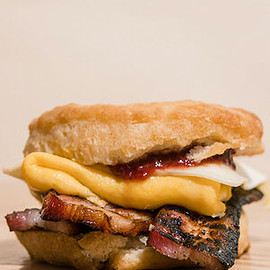 All Day Baby - Biscuit Sandwich with thick-cut bacon