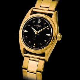 ROLEX - Black Dial Star Indices Super Oyster [Reference 6098]