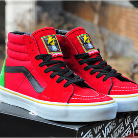 VANS - Supreme x BAD BRAINS x VANS SK8-HI