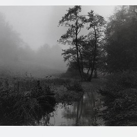 Don McCullin - The River Alham that runs through my village in Somerset, Mid 1990s